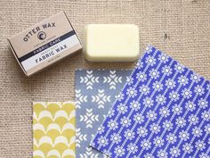 Wax fabric yourself to make it waterproof - great for bags and outdoor projects