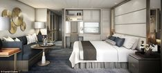 This seaside room is just the latest in a series of cruise lines adding new luxury spaces to their boats.