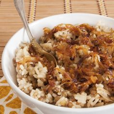 oignon riz cube de bouillon by Read Lentil Recipes, Rice Recipes, Snack Recipes, Tagine Recipes, Cream Recipes, Healthy Snacks, Healthy Recipes, Easy Smoothie Recipes, Couscous