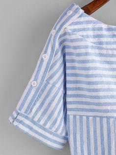 32 mejores imágenes de blusas rayas 0df0123f38e5