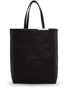 ec566ee51db3b Borsa shopper lati coccodrillo Mango Bags