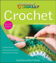 Teach Yourself VISUALLY Crochet, 2nd Edition (Sidottu)