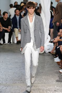 John Varvatos - Men Fashion Spring Summer 2015 - Shows - Vogue.it