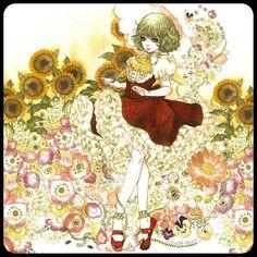 Kazami Yuuka from Touhou, by Sakizou