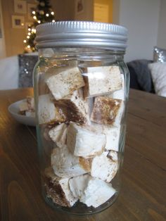 2015-12-17 13.12.30 Luke 17, Marshmallows, Mason Jars, Marshmallow, Mason Jar, Jars
