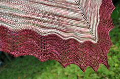 Ravelry: Resonation Shawl pattern by Dena Stelly