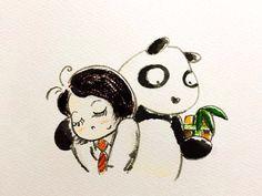214.2.14 【一日一大熊猫】 バレンタインデーというイベントにのって 本気の恋をしている人をカワイイと思う。