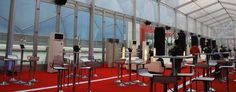 reception tent - catering tent - 30*50m, accommodate around 1000 people