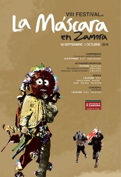 VIII FESTIVAL de La Máscara en Zamora, 30 de septiembre y 1 de octubre de 2016