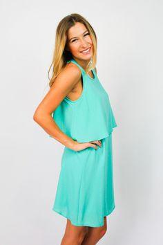 Jade Layer Dress $42