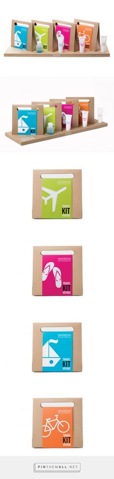 Vagheggi Travel Kit Voyage - Packaging of the World - Creative Package Design Gallery - http://www.packagingoftheworld.com/2016/04/vagheggi-travel-kit-voyage.html