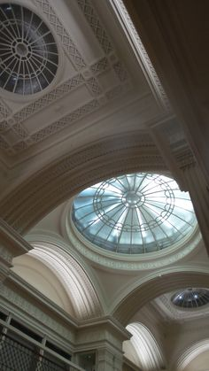 Ceiling at Talbot Rice Gallery at University of Edinburgh