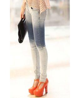 Slim Fit Wash Jeans Skinny Jeans Style, Cheap Jeans, Korean Fashion, Fashion Beauty, Slim, Fitness, Pants, Women, K Fashion