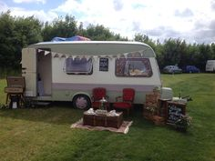 Your own vintage photo booth caravan to capture the evenings moments www.facebook.com/kimhicksonevents