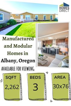Exclusive mobile home Cheap Mobile Homes, Mobile Homes For Sale, Palm Harbor Homes, Modular Homes, Square Feet, Floor Plans, Construction, Exterior, House