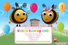 Buzz Bee / the hive invitation