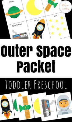 Outer Space Toddler Preschool Packet