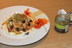 #nottheusualsalad #smodatamente facile #golosamente salutare e buona! Con #pestogenovesebio e #oliveneretaggiasche #sommariva scopritela qui -> http://www.smodatamente.it/ricetta-insalata-5-cereali-integrali-pesto-verdure/