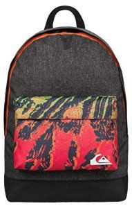 Quiksilver Everyday Poster Backpack Cave Rave Neon Orange Promo