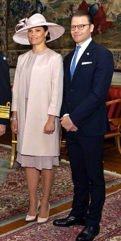 Crown Princess Victoria and Prince Daniel to welcome Indian President Pranab Mukherjee at the start of his state visit to Sweden at the Royal Palace, Stockholm, Princess Victoria Of Sweden, Princess Estelle, Crown Princess Victoria, Princesa Victoria, Swedish Royalty, Prince Daniel, Queen Silvia, Royal Look, Presidents