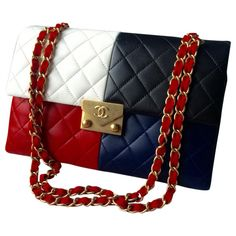 "Chanel Handbags UK, luxury bags for women. Most British bags literally spell ""England. Love the vibrant red Chanel straps, colorful, sophisticated refined. My first time seeing this Chanel bag. Hermes Handbags, Burberry Handbags, Purses And Handbags, Cheap Handbags, Satchel Handbags, Luxury Bags, Luxury Handbags, Givenchy, Bag Women"
