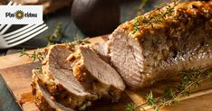 Pork Tenderloin Recipes, Pork Loin, Pork Roast, Thyme Recipes, Green Beans And Potatoes, Lean And Green Meals, Spiced Apples, Greens Recipe, Filets