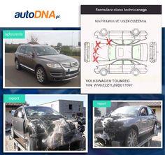 Baza #autoDNA- #UWAGA! #Volkswagen #Touareg - samochód sportowo-użytkowy produkowany przez niemiecki koncern motoryzacyjny Volkswagen AG od 2002 roku