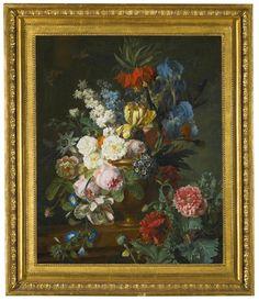 Jan Frans van Dael - Still life withfritillaria imperialis,