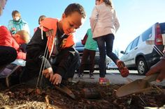 Garden helps third graders learn about Greek mythology