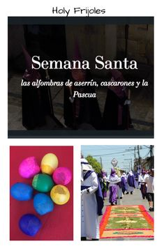 April blog post on Semana Santa, Alfombras de aserrín, Cascarones and Pascua  in Guatemala, Ecuador, Spain and more Spanish speaking countries, with a few surprises sprinkled throughout! FREE videos, webquests, activities, coloring sheets and more! Spanish Teacher, Spanish Class, Teaching Spanish, Teacher Blogs, Teacher Resources, Easter In Spanish, Comprehensible Input, Spanish Speaking Countries, Spanish Activities