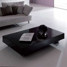 I love Resource Furniture... That little table TRANSFORMS into a taller... longer table... like... a Dinner table... lol.