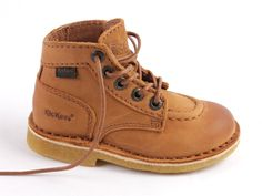 Kickers original jeans boot  camel (maat 24-34)