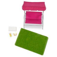 """LORI 6"""" Doll Outdoor Furniture Set : Target"""