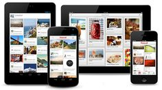 Pinterest Mobile-Apps