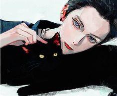 Dark Anime Guys, Cute Anime Guys, Anime Art Girl, Manga Art, Pretty Art, Cute Art, Drow Male, Character Art, Character Design
