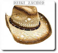 Słomkowy kapelusz kowbojski