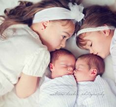 But it's definitely worth it. | 34 Beautiful And Creative Photography Ideas For Twins