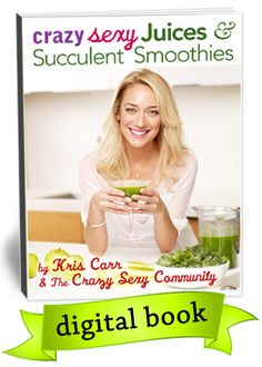 LOVE Kris Carr! Amazing woman with incredible health journey just came out w a Juicing & Smoothie book- yah!! My 2 favorite ways to be healthy :)