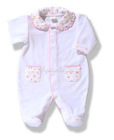 Pijama de bebé blanco
