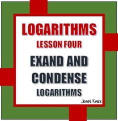 logarithms problems and solutions pdf