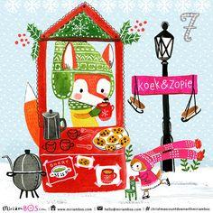 The Christmas Countdown by Miriam Bos