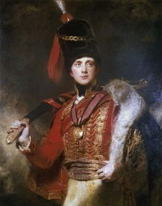 Lieutenant-General The Hon. Sir Charles Stewart, later 3rd Marquess of Londonderry, by Sir Thomas Lawrence, 1813. Private collection.