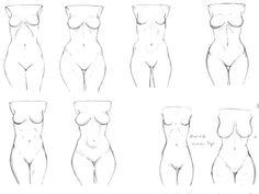 Hip Study -  by Ecchi-Senshi.deviantart.com on @deviantART ✤ |