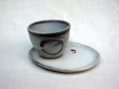 Cup and Saucer by KoideStudio on Etsy, $25.00