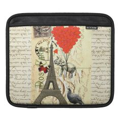 =>Sale on          	Vintage elephant and red heart balloons iPad sleeve           	Vintage elephant and red heart balloons iPad sleeve We have the best promotion for you and if you are interested in the related item or need more information reviews from the x customer who are own of them before ...Cleck Hot Deals >>> http://www.zazzle.com/vintage_elephant_and_red_heart_balloons_ipad_sleeve-205221809911155111?rf=238627982471231924&zbar=1&tc=terrest