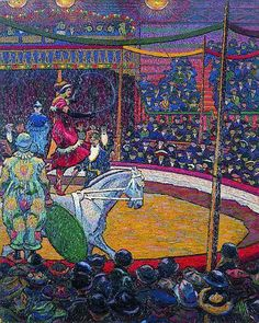 The Circus, Charles Ginner