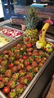 El Sabroson's photo. Mexican Party, Mexican Dishes, Cravings, Strawberry, Stuffed Peppers, Fruit, Vegetables, Food, Mexican Fiesta