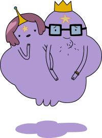 Lumpy Space King and Queen