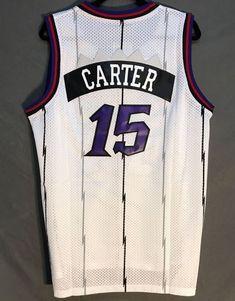 Men 15 Vince Carter Jersey White Toronto Raptors Throwback Swingman 198dadb3e