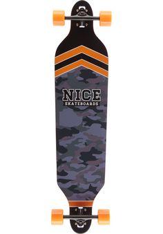 Nice Skateboards General grey-orange Titus Onlineshop